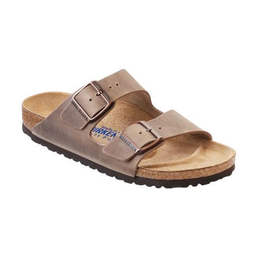 Birkenstock Women's Arizona Soft Footbed Oiled Leather Sandals - Regular