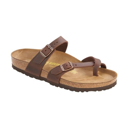 Birkenstock Women's Mayari Oiled Leather Sandals Habana