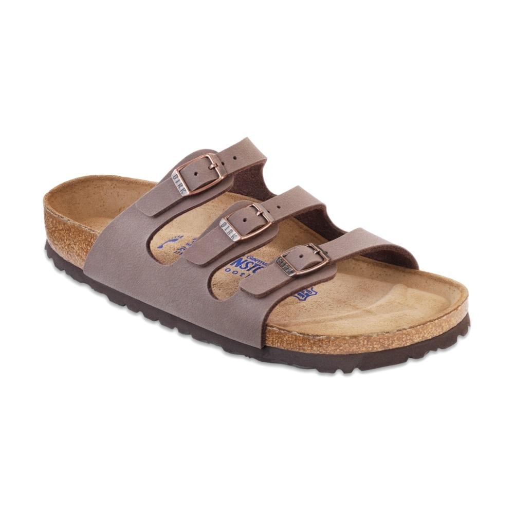 Birkenstock Women's Florida Soft Footbed Birko-Flor Sandals MOCHA