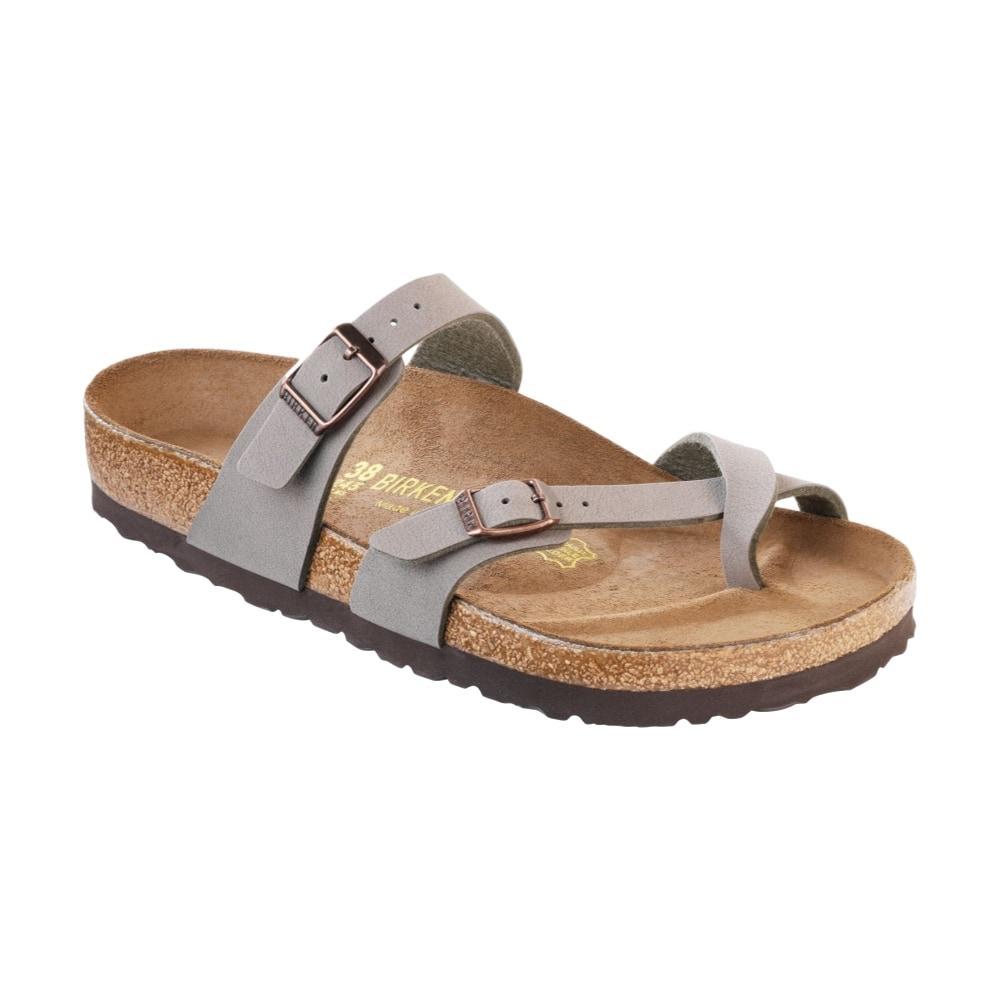 Birkenstock Women's Mayari Birkibuc Sandals STONE