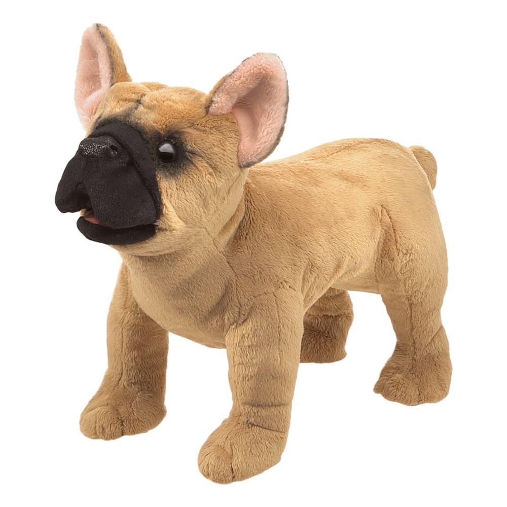 Folkmanis French Bulldog Hand Puppet