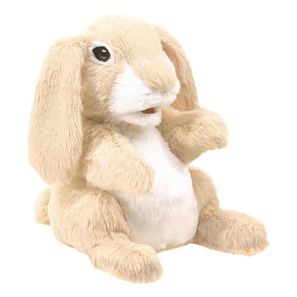 Folkmanis Sniffing Rabbit Hand Puppet