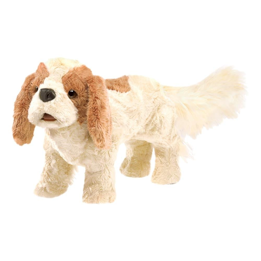 Folkmanis Cavalier King Charles Spaniel Hand Puppet