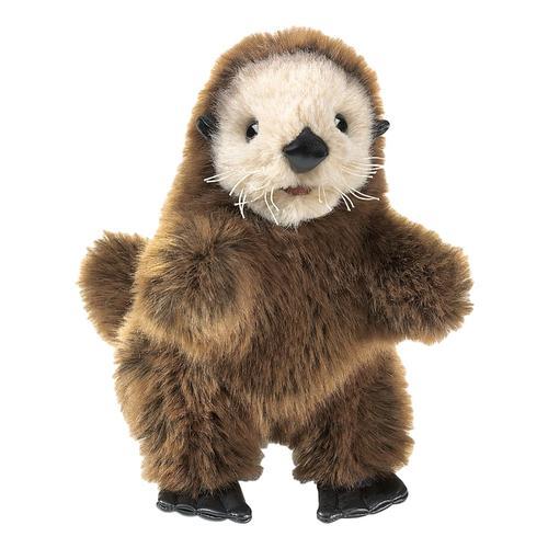 Folkmanis Baby Sea Otter Hand Puppet