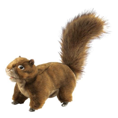 Folkmanis Red Squirrel Hand Puppet