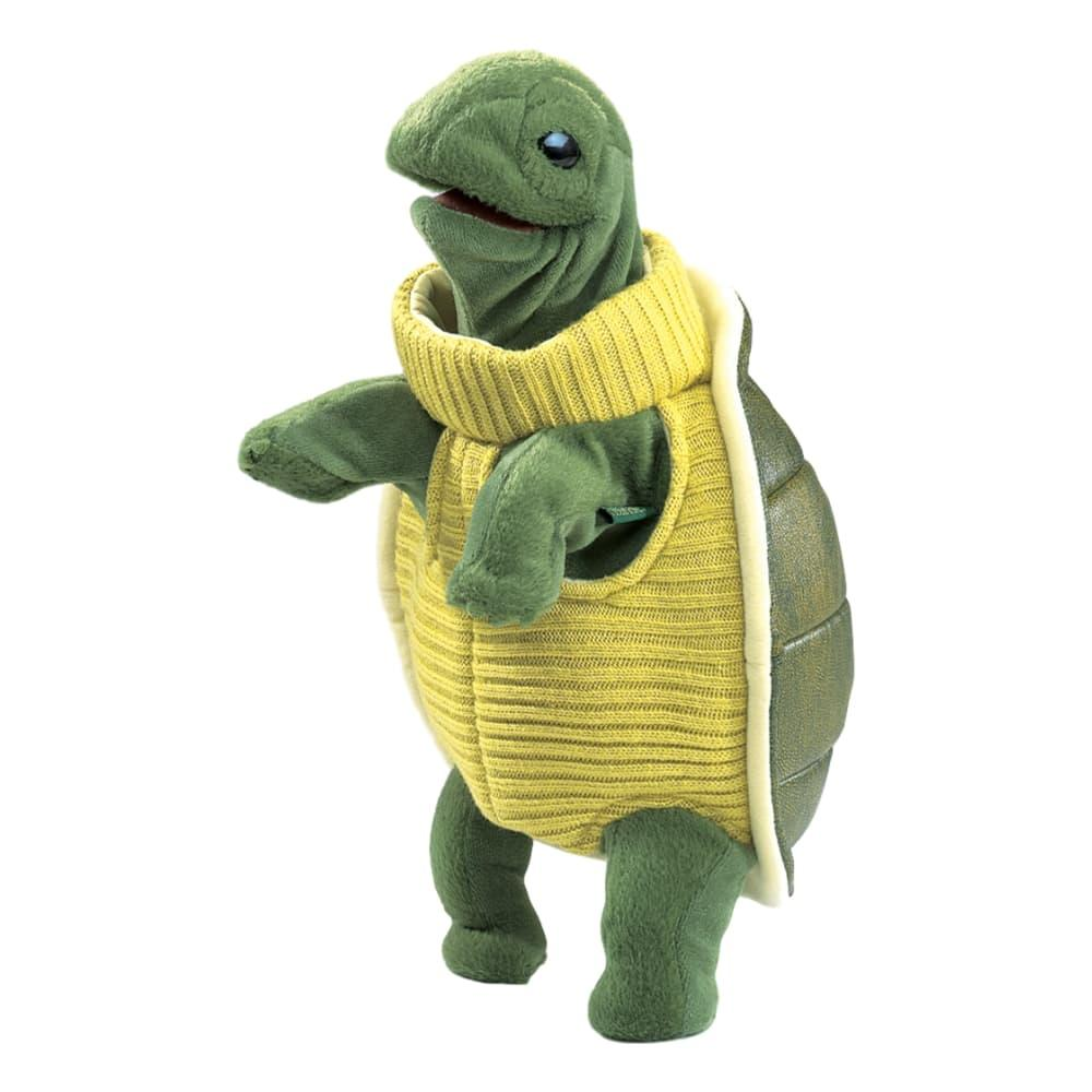 Folkmanis Turtleneck Turtle Hand Puppet