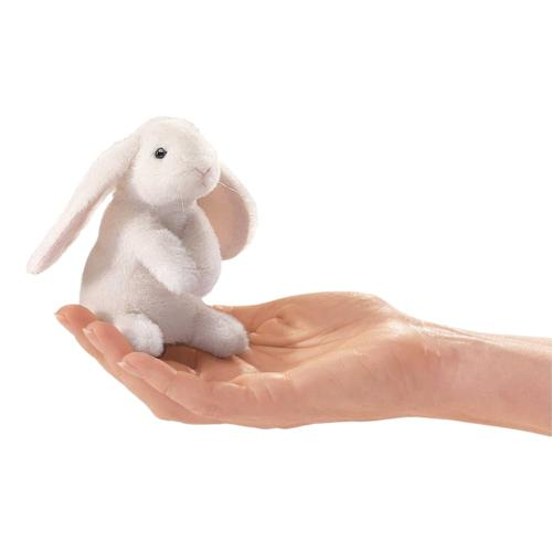 Folkmanis Mini Lop Eared Rabbit Finger Puppet