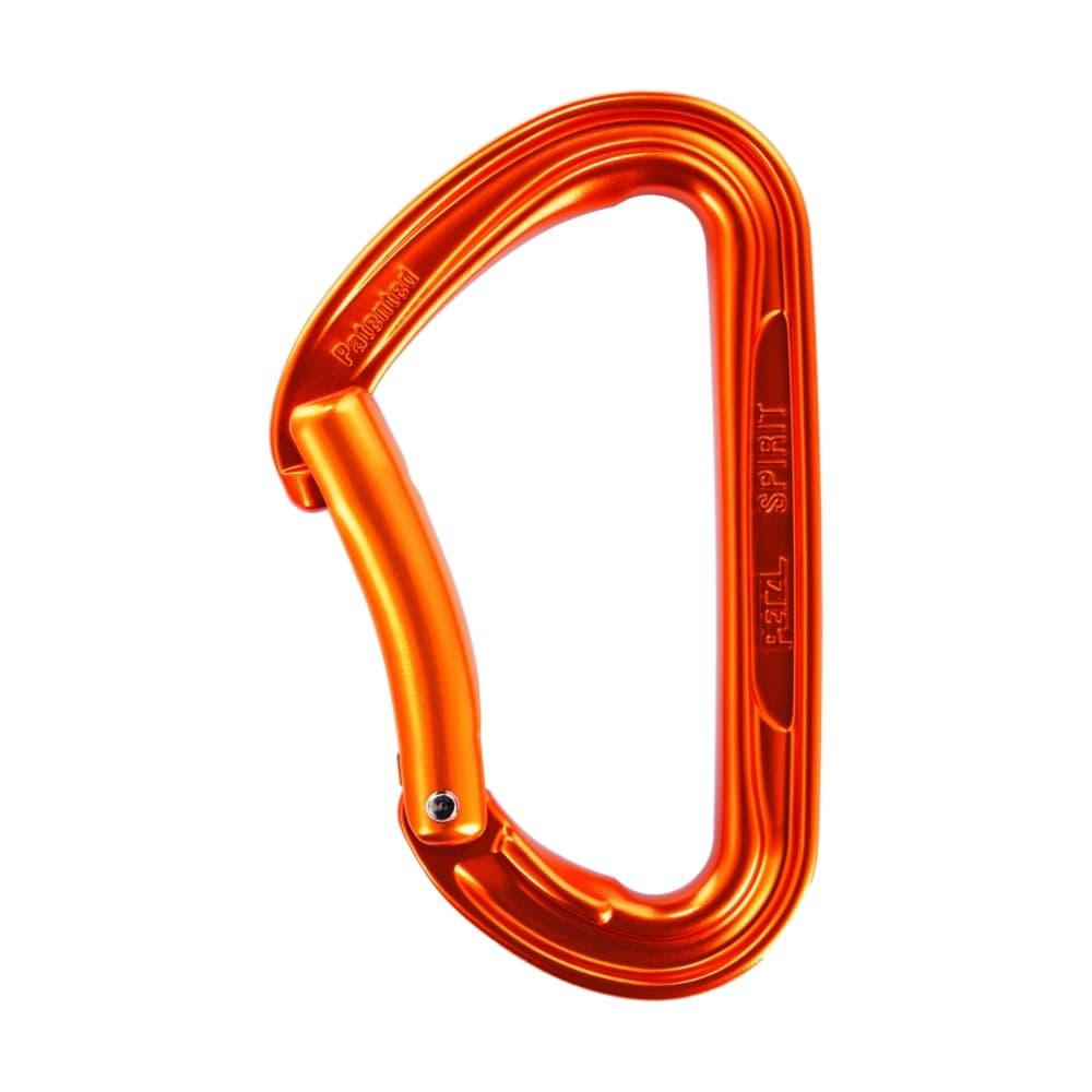 Petzl Spirit Bent Gate Carabiner ANODIZED