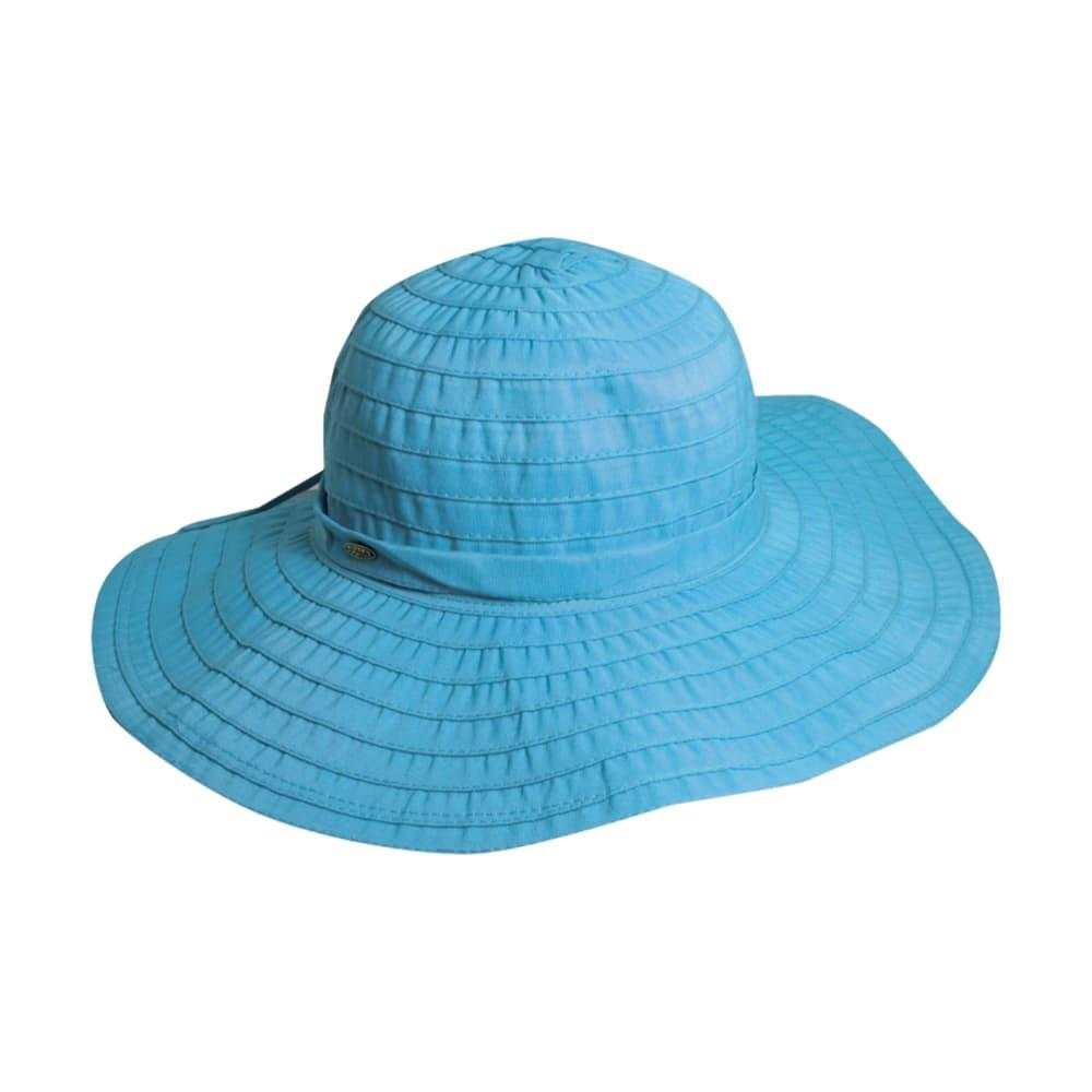 Dorfmam Pacific Women's Ribbon Crusher Hat AQUA