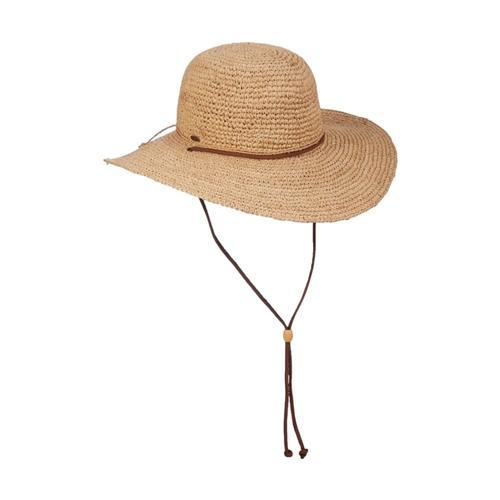 Dorfman Pacific Women's Raffia Big Brim Hat Straw