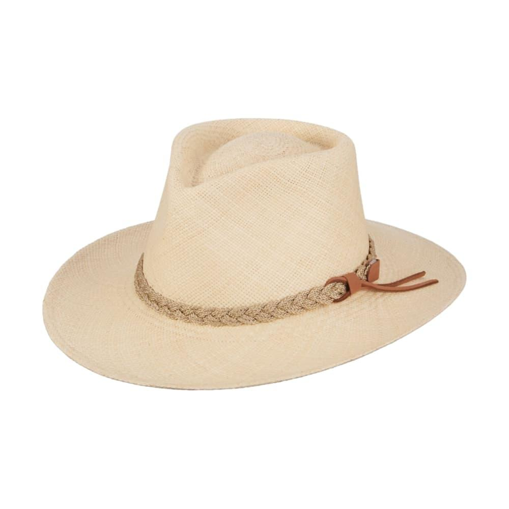 Dorfman Pacific Men's Panama Outback Hat NATURAL