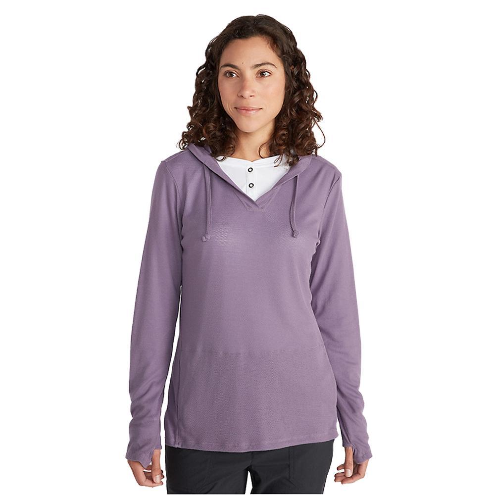 ExOfficio Women's BugsAway Lumen Hoody GRAPE_4673