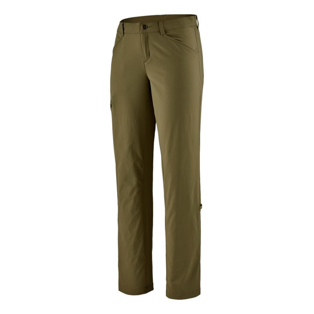 Patagonia Women's Quandary Pants - Regular 32in Inseam GREEN_FTGN