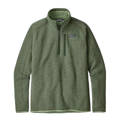 Patagonia Men's Better Sweater 1/4 Zip Mach_grn