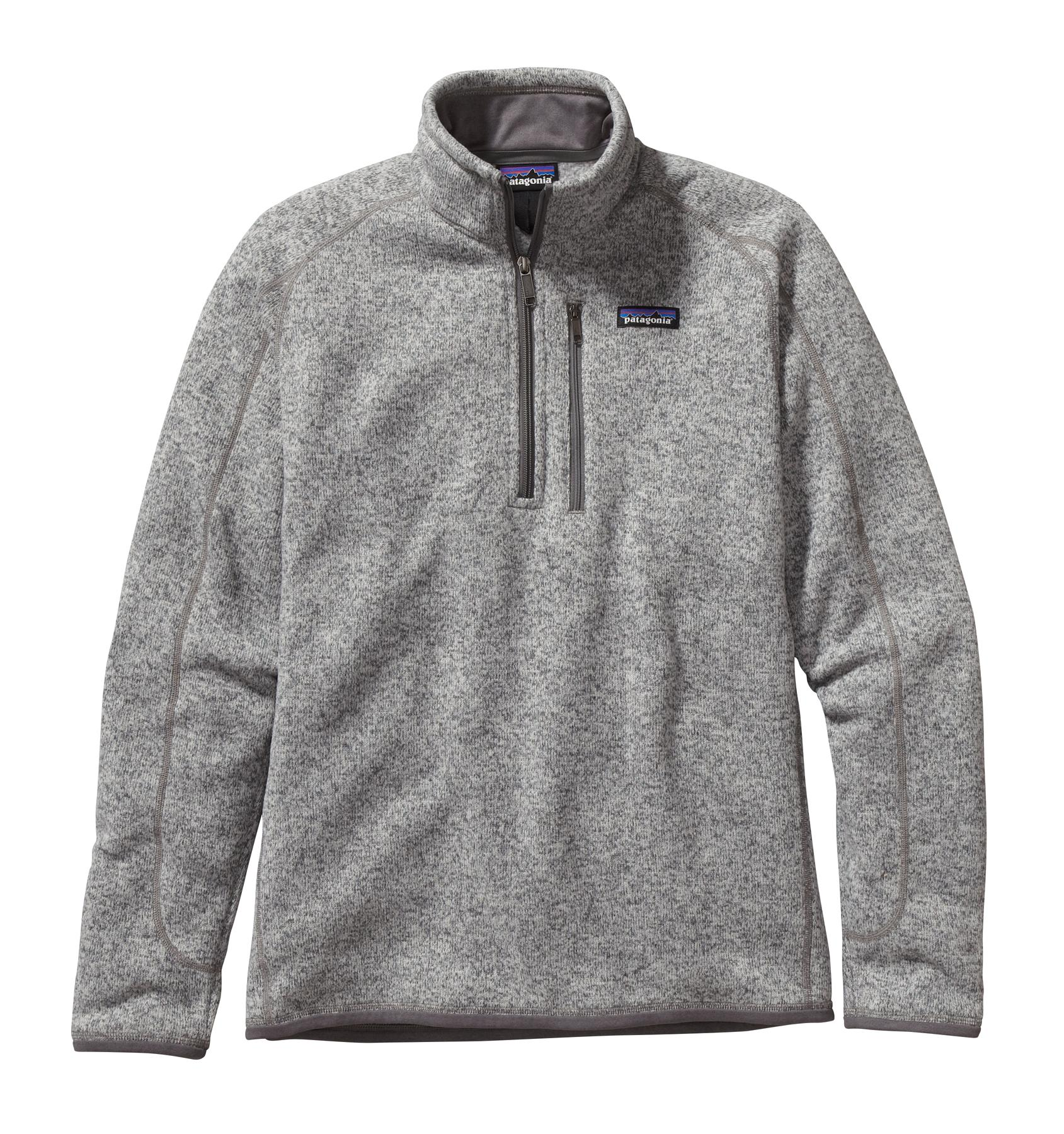 Patagonia Men's Better Sweater 1/4 Zip STH_STONEWASH
