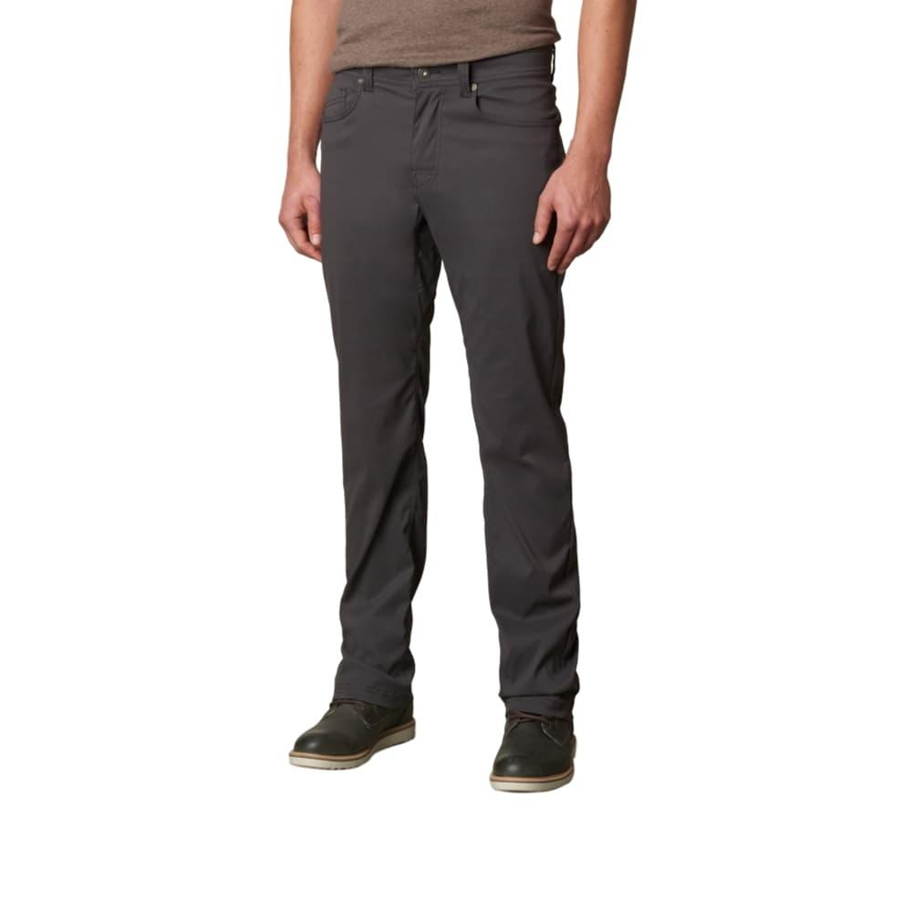 prAna Men's Brion Pants - 30in Inseam CHARCOAL