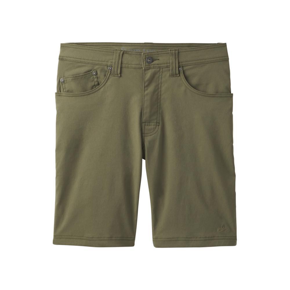 prAna Men's Brion Shorts - 9in CARGREEN