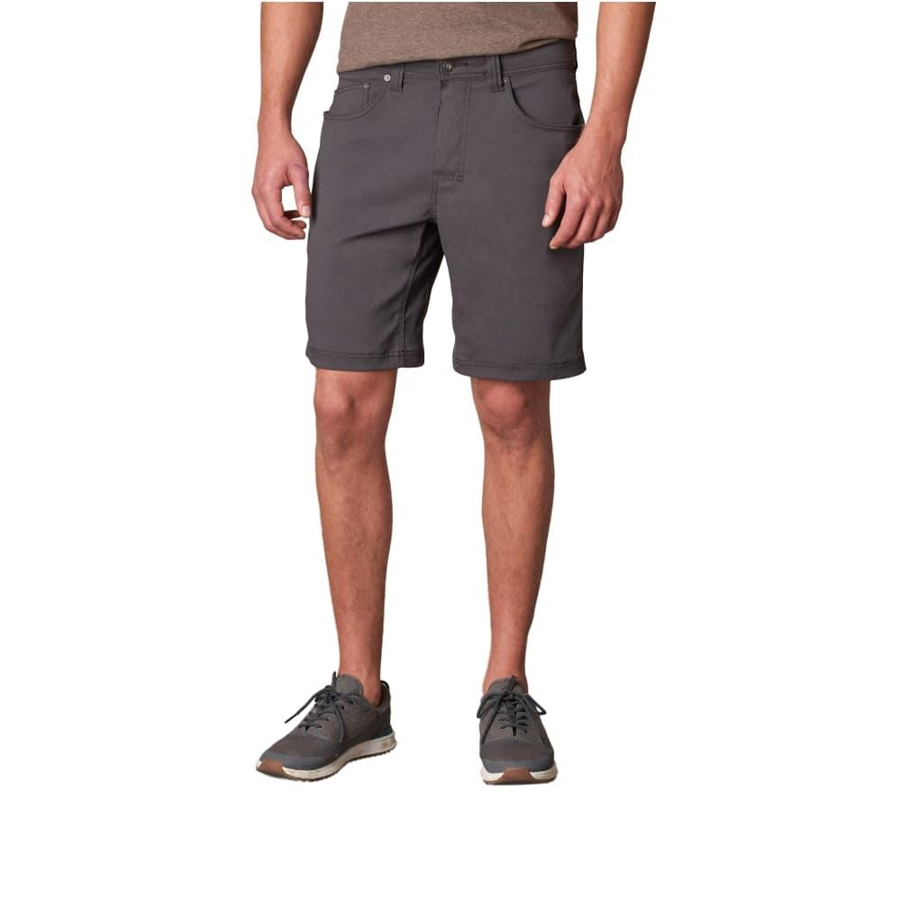 prAna Men's Brion Shorts - 9in Inseam CHARCOAL