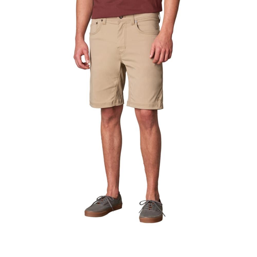 prAna Men's Brion Shorts - 9in DKKHAKI