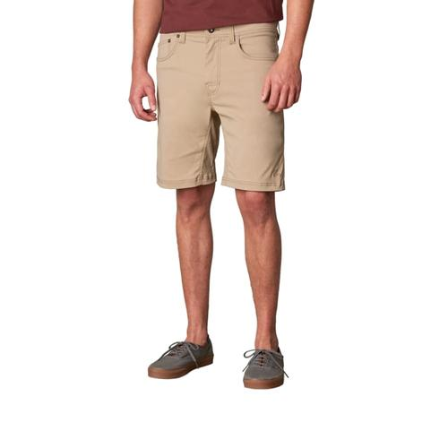 prAna Men's Brion Shorts - 9in Inseam Dkkhaki