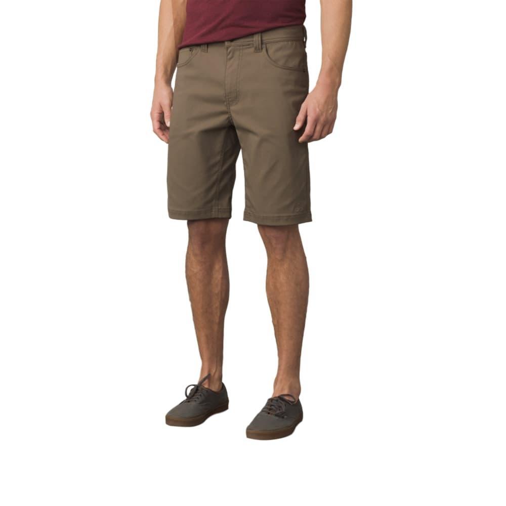 prAna Men's Brion Shorts - 9in MUD