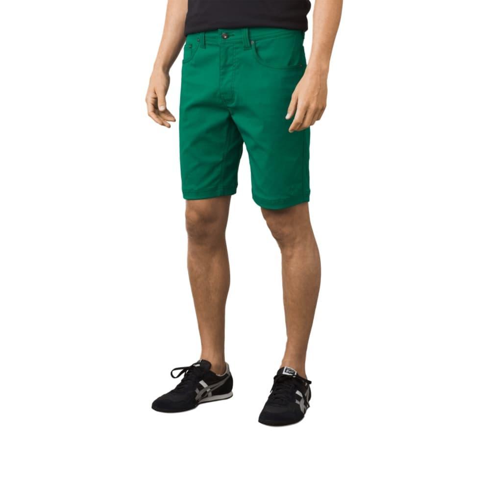 prAna Men's Brion Shorts - 9in SPRUCE
