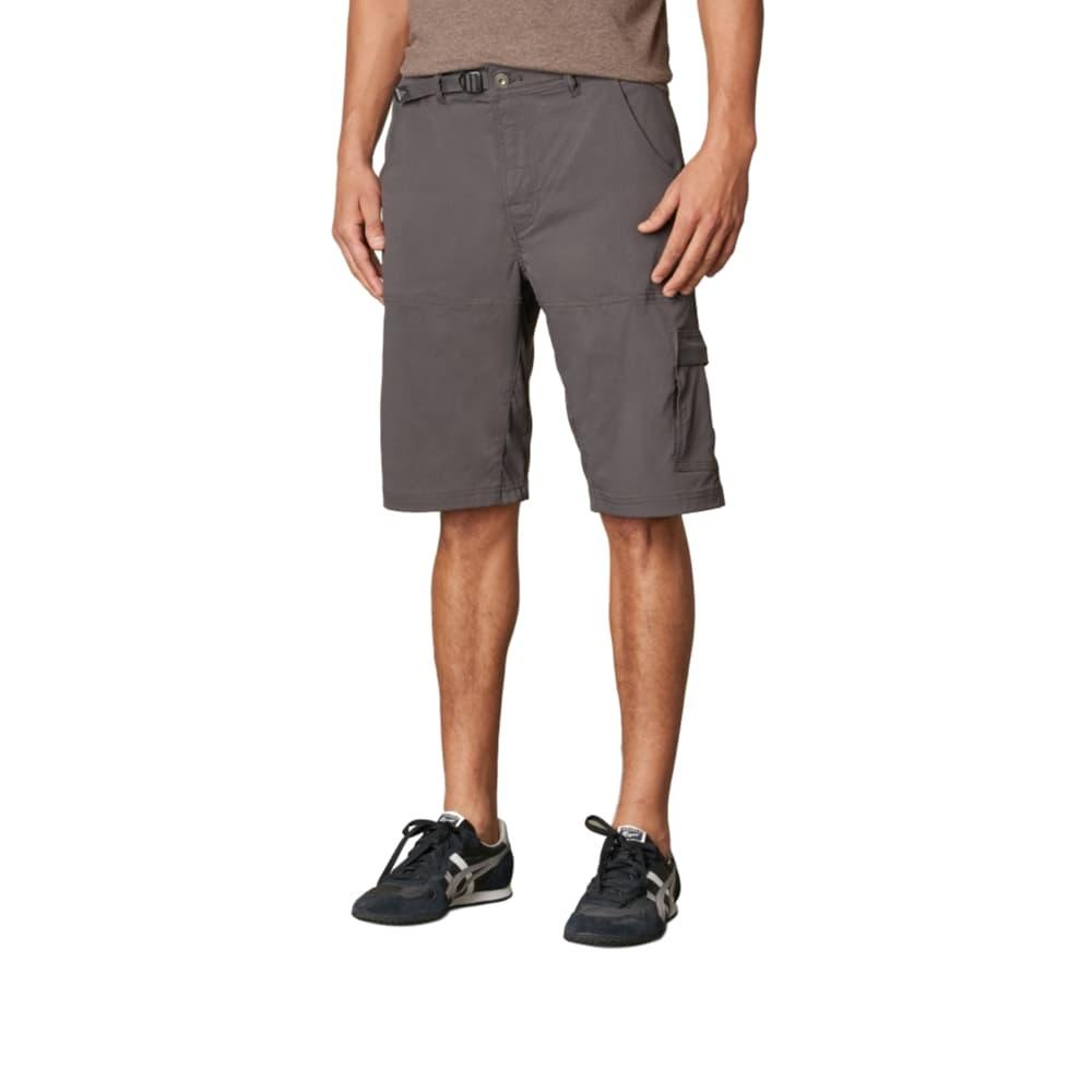 prAna Men's Stretch Zion Shorts - 10in Inseam CHARCOAL