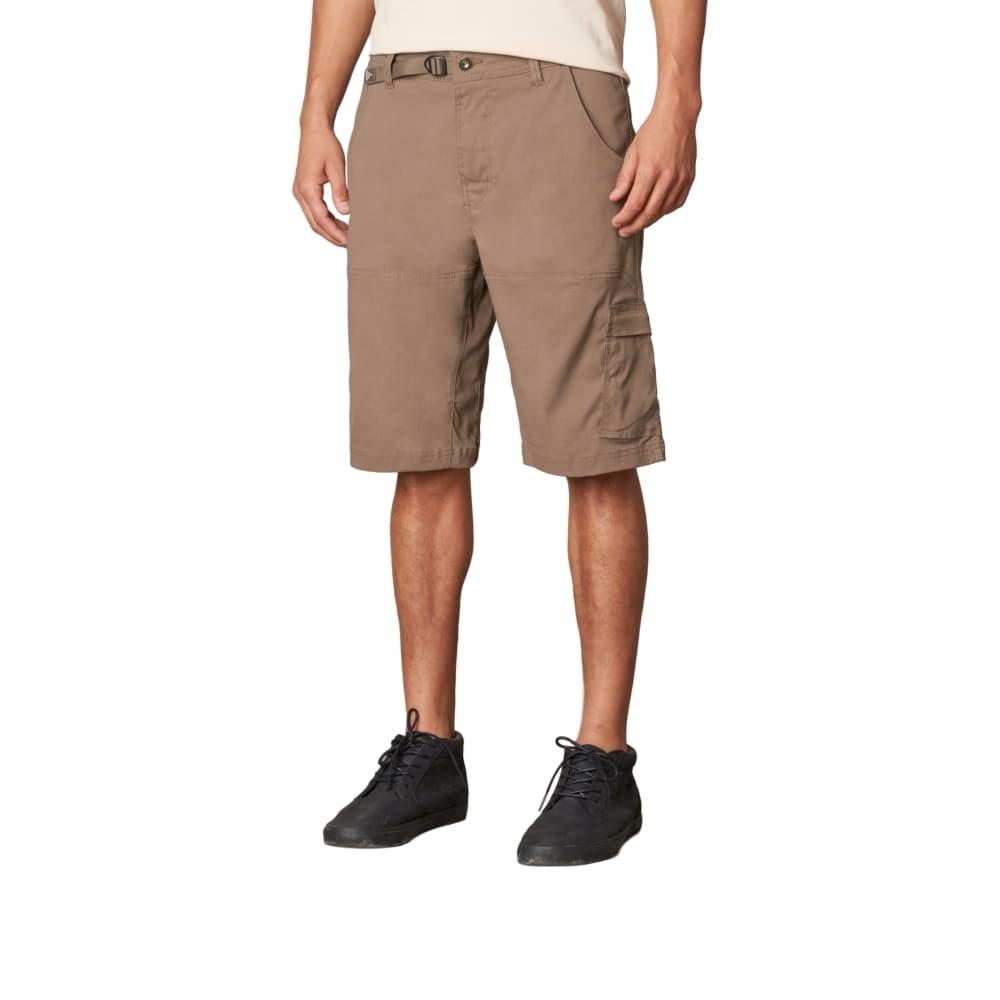 prAna Men's Stretch Zion Shorts - 10in Inseam MUD