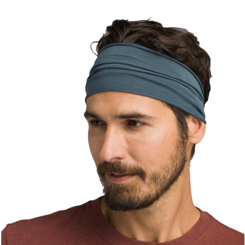 prAna Organic Headband GREYBLUE