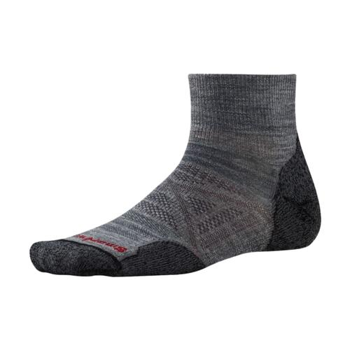 Smartwool Men's PhD Outdoor Light Mini Socks Medgray_052