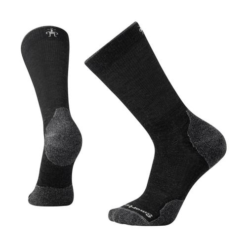 Smartwool Men's PhD Outdoor Light Crew Socks Charcoal_003
