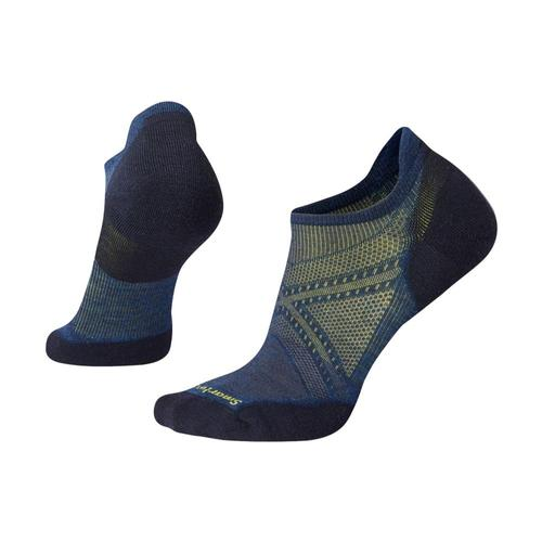 Smartwool Men's PhD Run Light Elite Micro Socks Apblue_b25