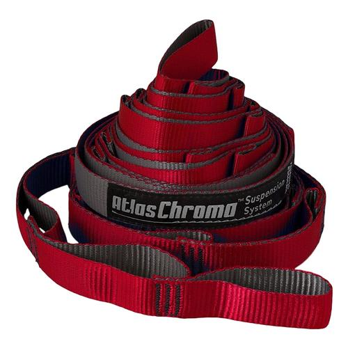 ENO Atlas Chroma Straps Red/Charc