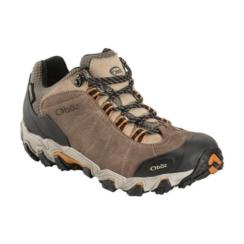 Oboz Men's Bridger Low Waterproof Hiking Shoes Walnut