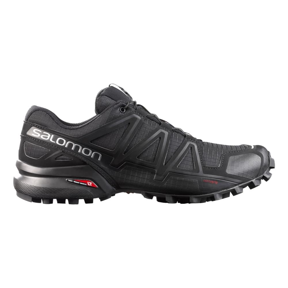 Salomon Men's Speedcross 4 Trail Running Shoes BLK/BLK