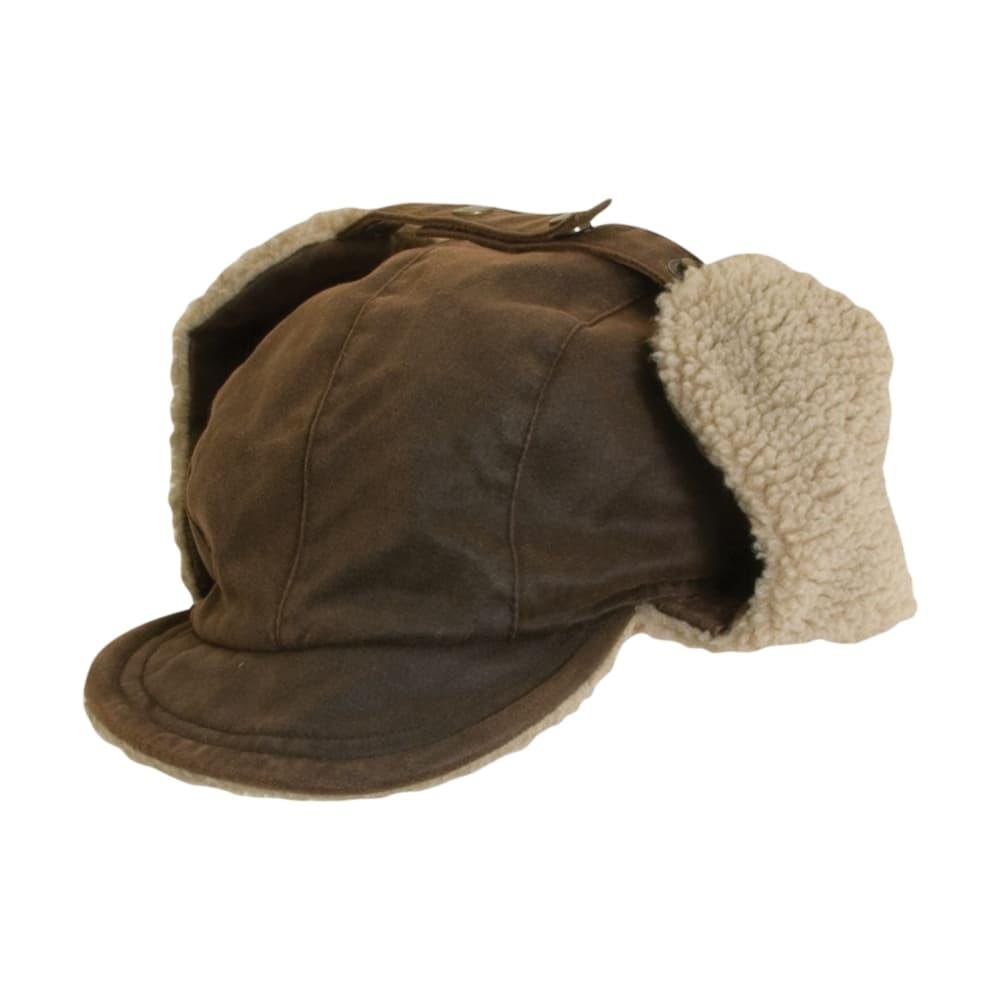 Dorfman Pacific Men's Fleece Lined Winter Hat BROWN
