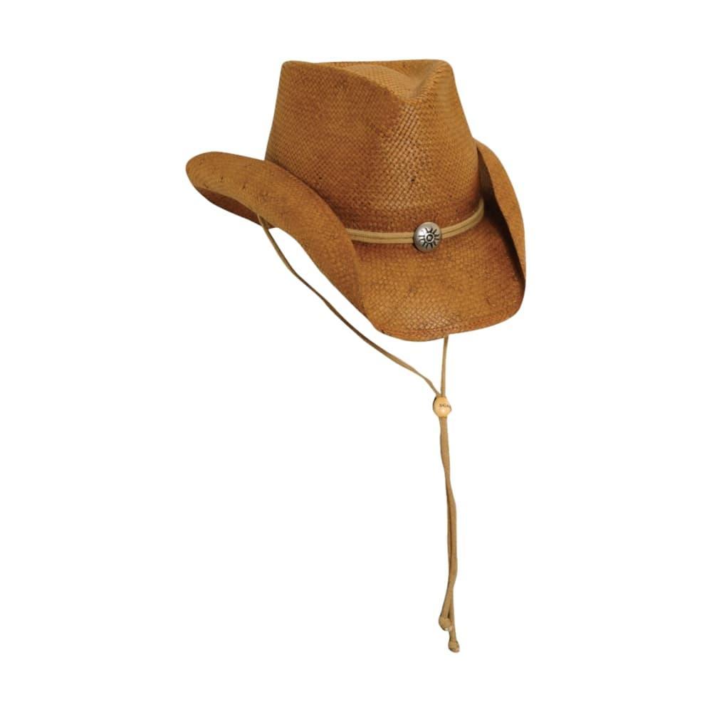 Scala Soft Toyo Western Concho Hat TBCCO