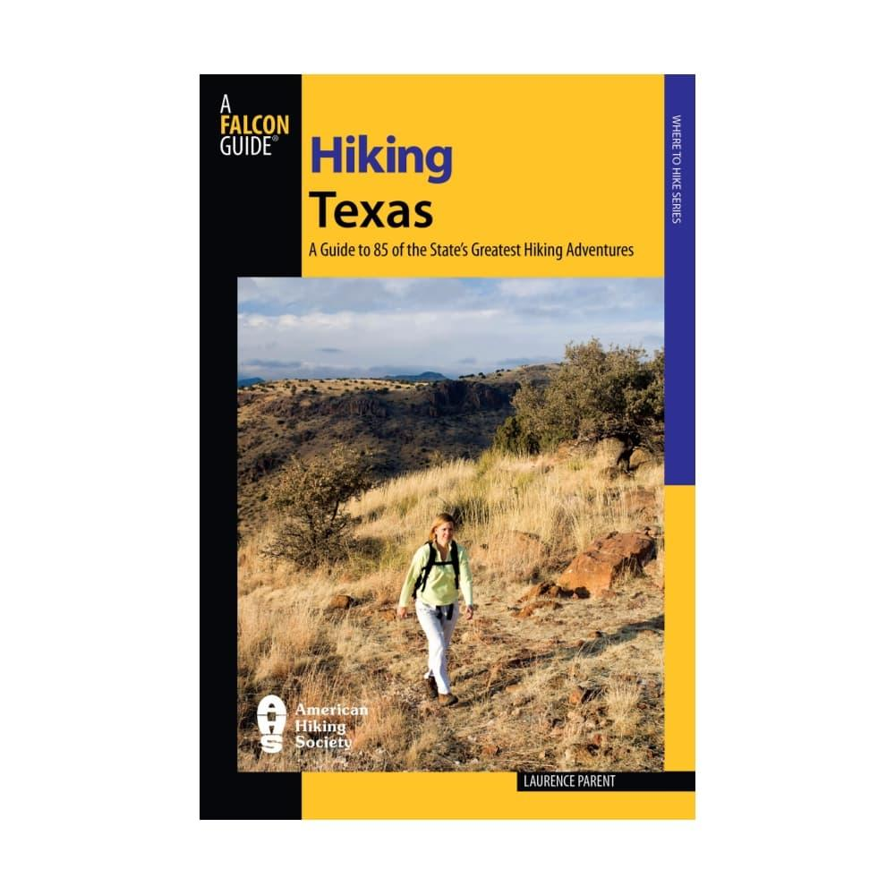 HIking Texas by Laurence Parent FALCON