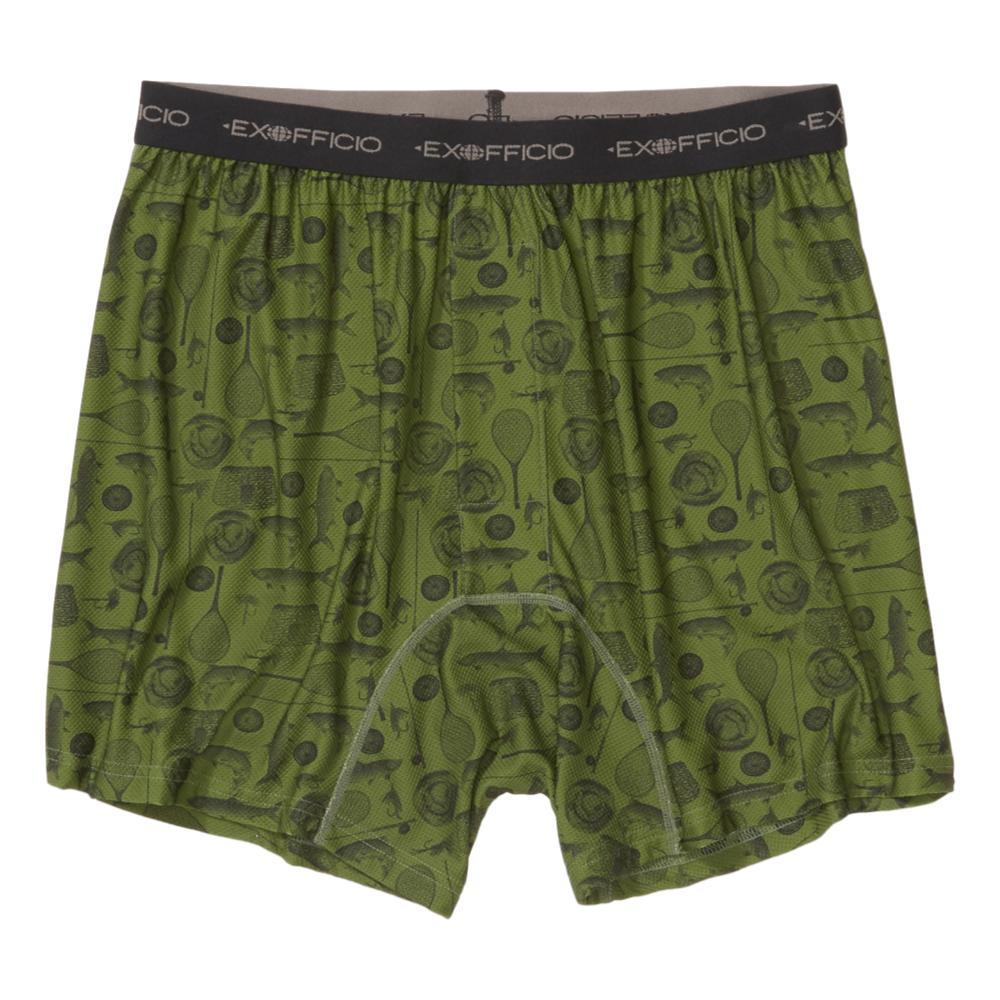 ExOfficio Men's Give-N-Go Printed Boxer Briefs FFISH_6015