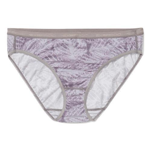 ExOfficio Women's Give-N-Go Printed Bikini Briefs Lilac_7017