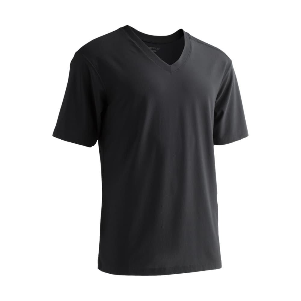ExOfficio Men's Give-N-Go V-Neck Undershirt BLACK_9999
