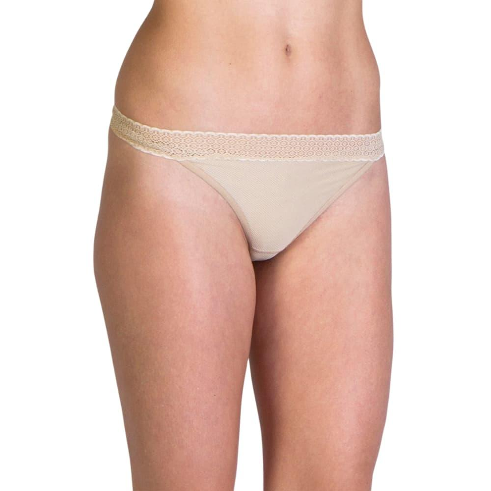 ExOfficio Women's Give-N-Go Lacy Thong NUDE_8010
