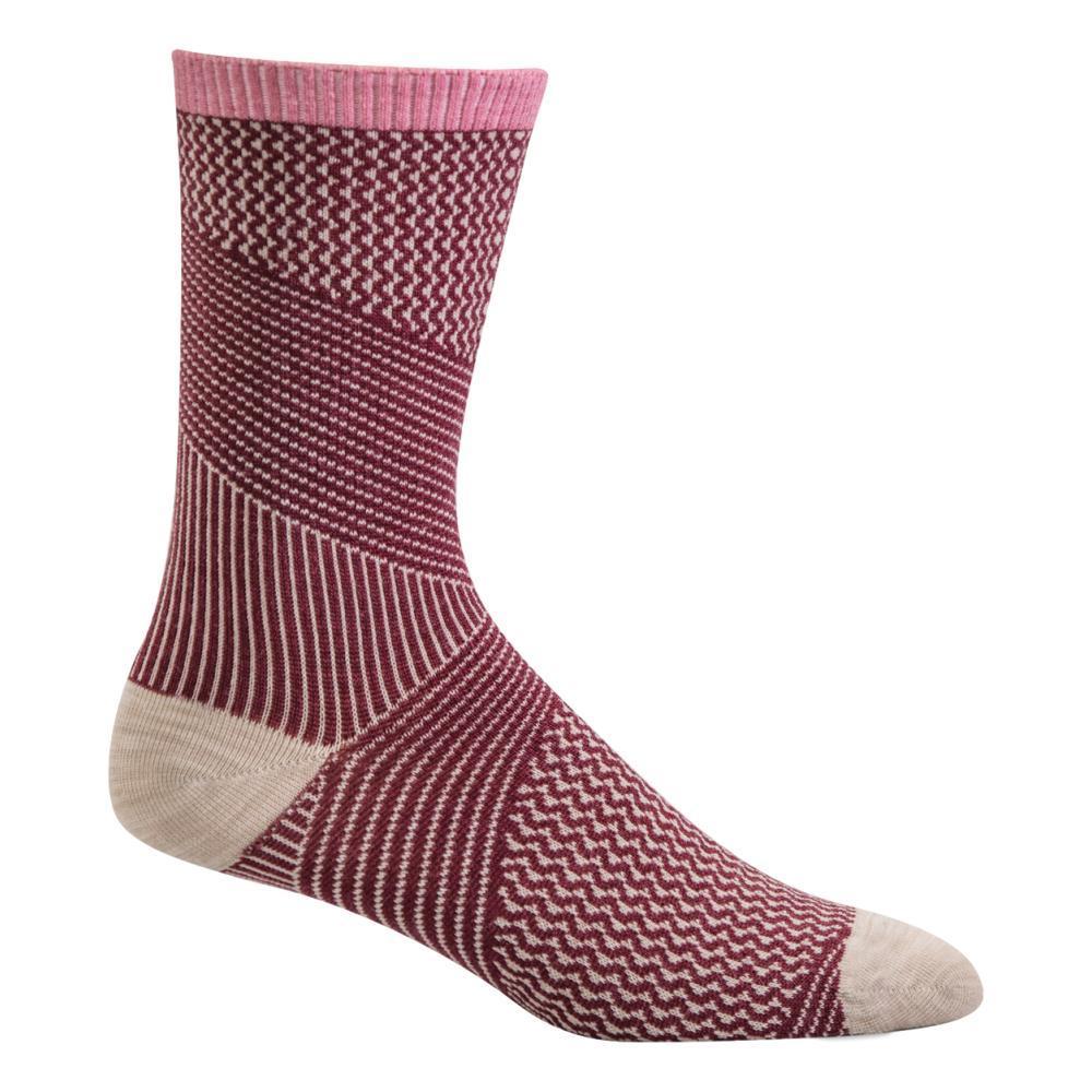 Sockwell Women's It's a Wrap Crew Socks MULBRY_515