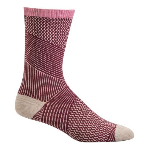 Sockwell Women's It's a Wrap Crew Socks Mulbry_515