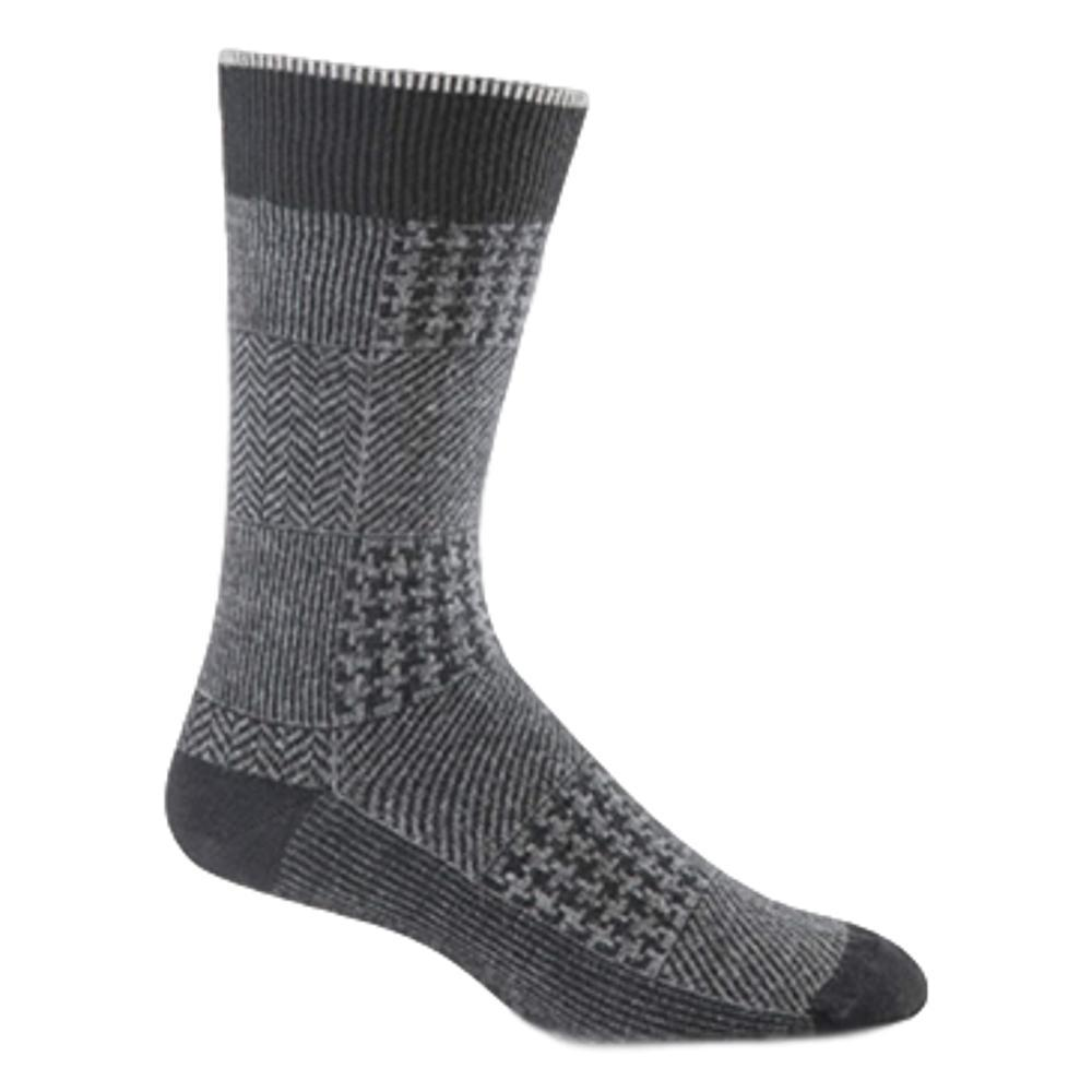 Sockwell Men's Haberdashery Crew Socks BLACK_900