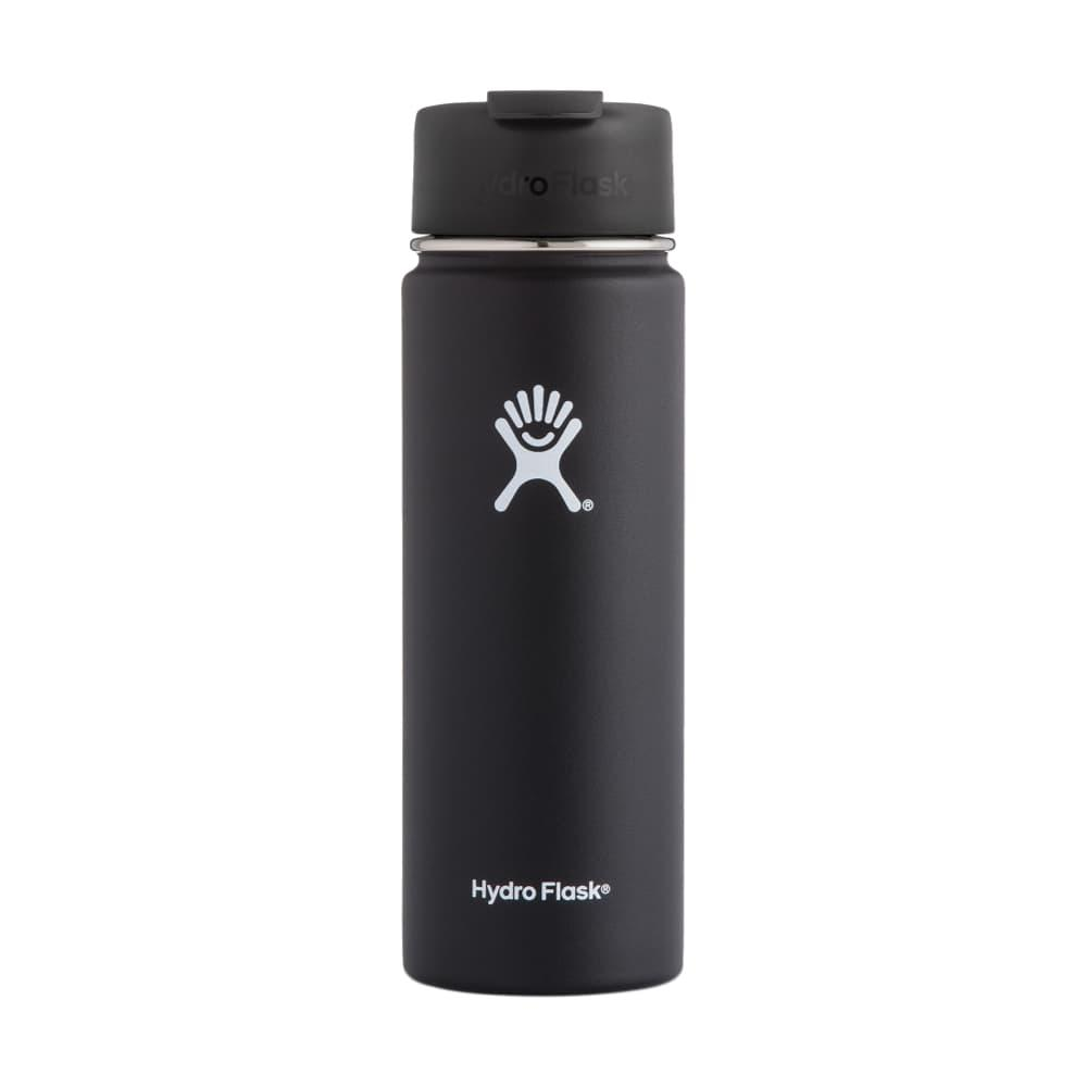 Hydro Flask 20oz Wide Mouth Bottle - Flip Lid BLACK