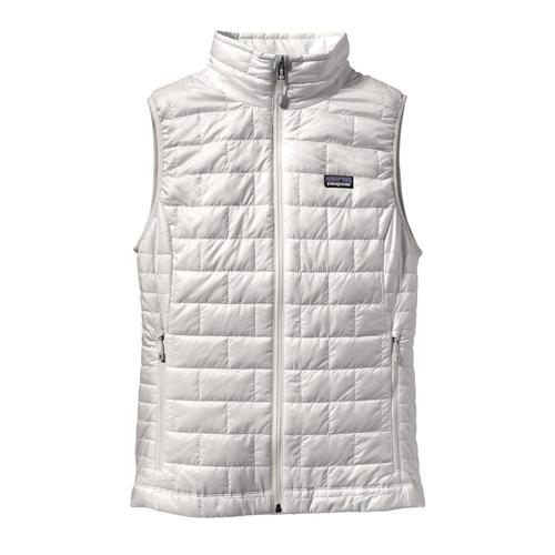 Patagonia Women's Nano Puff Vest White_bcw