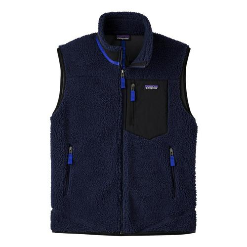 Patagonia Men's Classic Retro-X Fleece Vest Navy_nena
