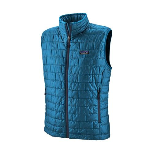 Patagonia Men's Nano Puff Vest Blue_balb