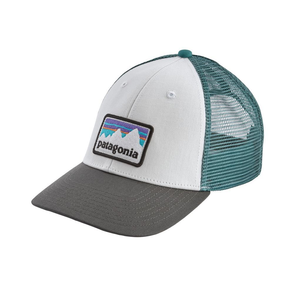 Patagonia Shop Sticker LoPro Trucker Hat WHFG
